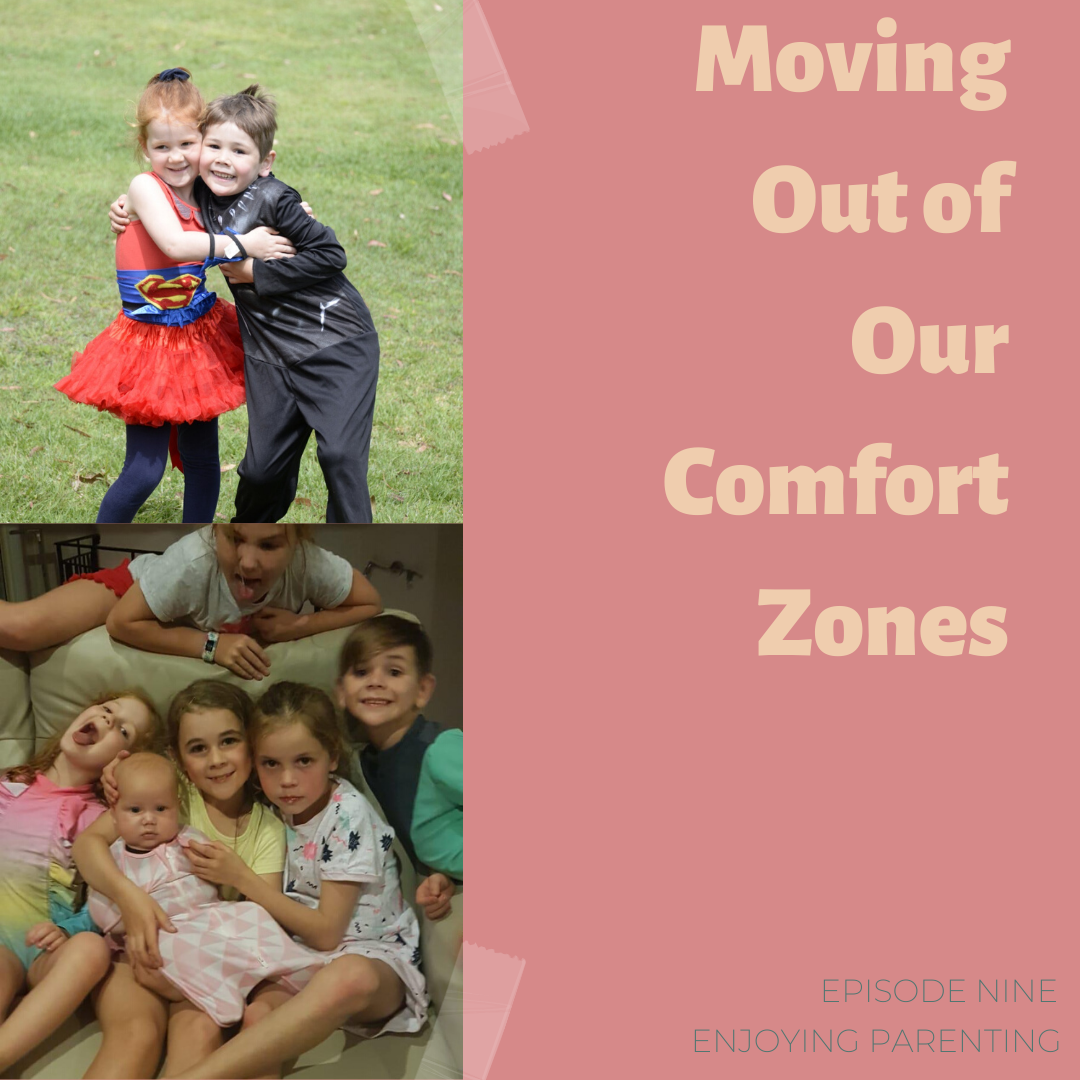 Moving Out of Our Comfort Zone