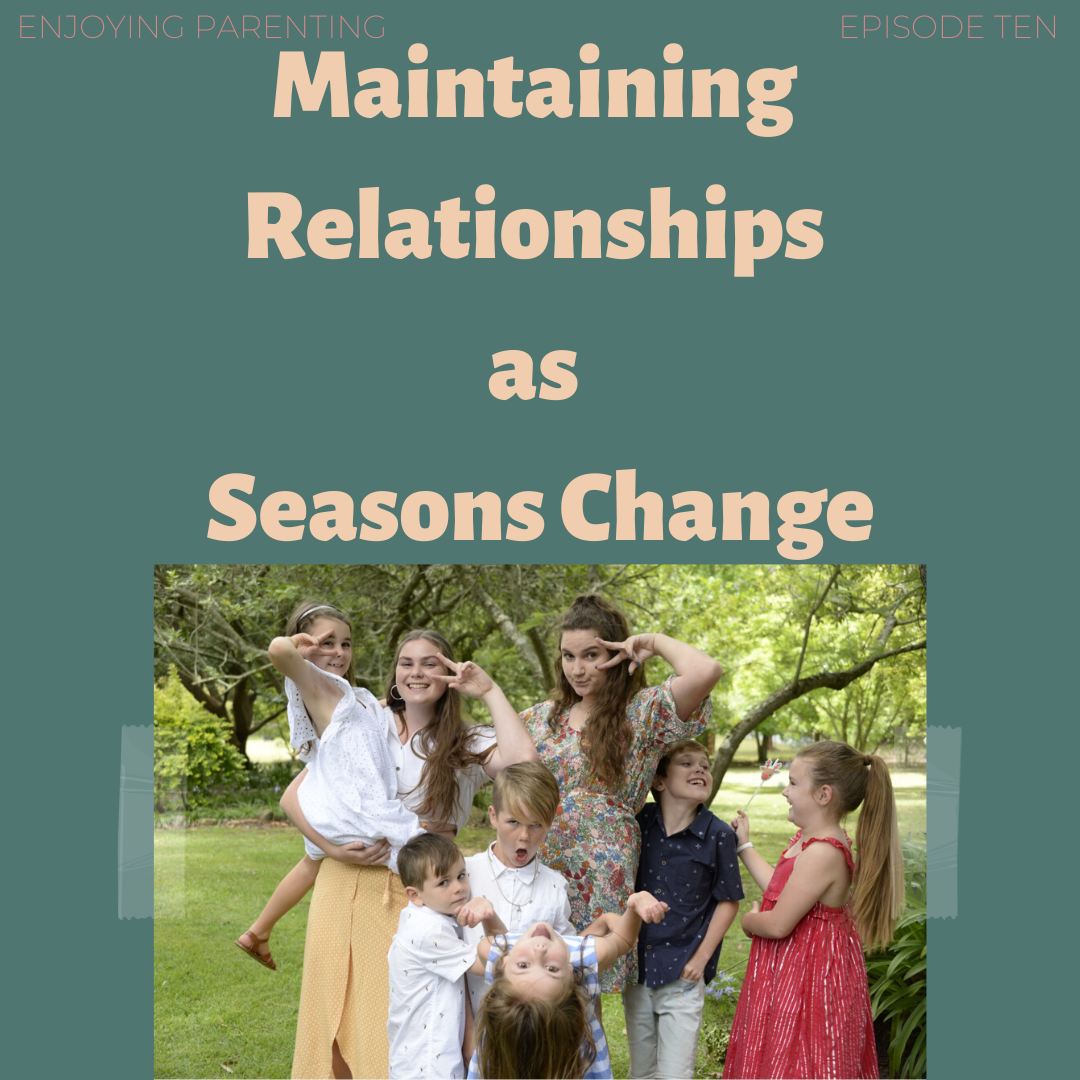 Maintaining Relationships as Seasons Change